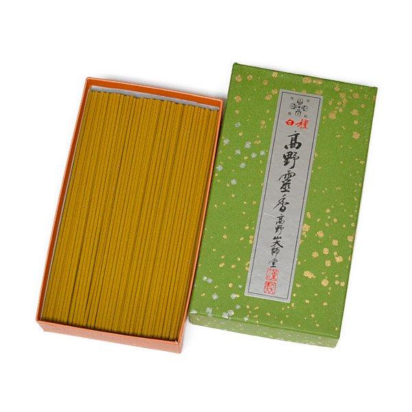 画像1: 極上白檀高野霊香 5寸(13cm) 大箱 (1)