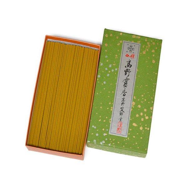 画像1: 極上白檀高野霊香 5寸(13cm) 中箱 (1)