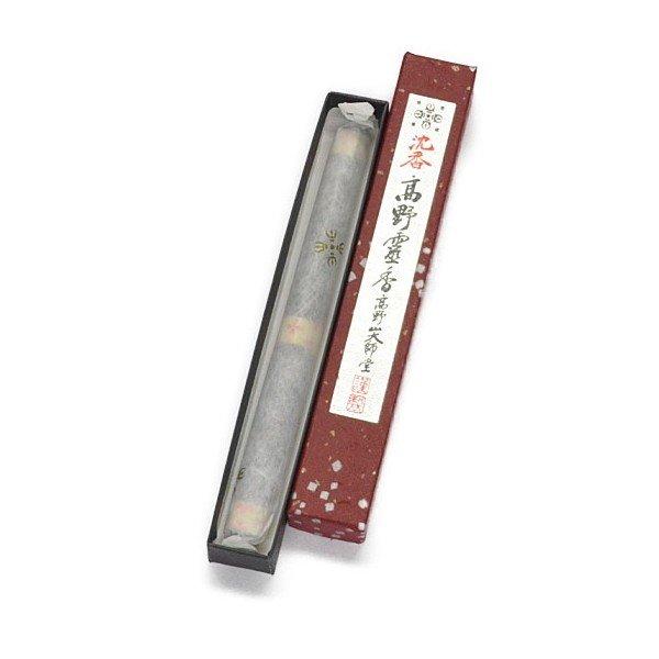 画像1: 沈香高野霊香 6寸(16cm) 1束入 小箱 (1)