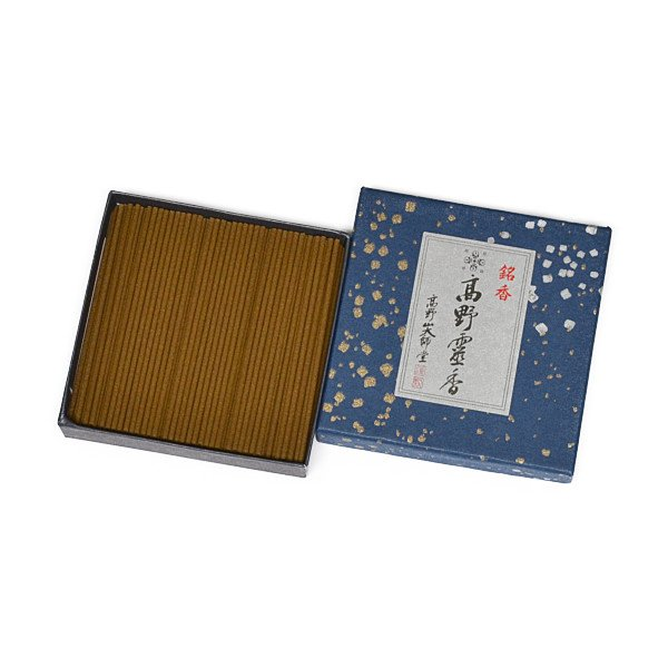 画像1: 銘香高野霊香 3寸(8cm) 中箱 (1)